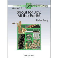 Shout for Joy, All the Earth!: スコアとパート譜セット