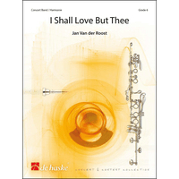 I Shall Love But Thee: スコアとパート譜セット