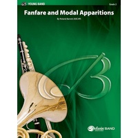 Fanfare and Modal Apparitions: スコアとパート譜セット